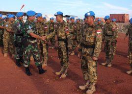 Satgas Kizi TNI di Afrika Tengah Perbaiki Jalan Sepanjang 200 Kilometer