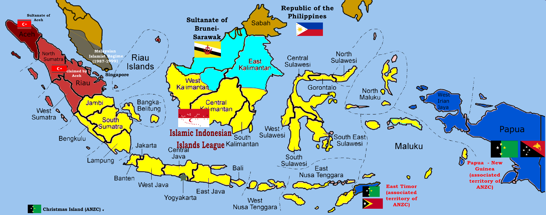 Climate Map Of Indonesia Sejarah Aceh, F...