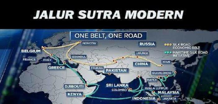 """Jalur Sutra Modern adalah """"Geostrategi""""-nya Cina"""