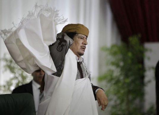 Mengenang  Lima Tahun Gugurnya Moammar Khadaffi