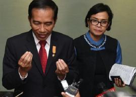 Gallup, Jokowi, dan Sri Mulyani