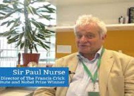 Sir Paul Nurse Berbagi Pengetahuan di Indonesia