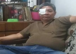 Pasca Operasi Katarak, Penglihatan Mata Hendrajit Membaik