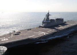 Jepang Akan Punya Kapal Induk Pertama Pasca-Perang Dunia II