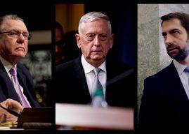 Tom Cotton dan John Keane, Calon Kuat Menteri Pertahanan AS Pengganti Mattis