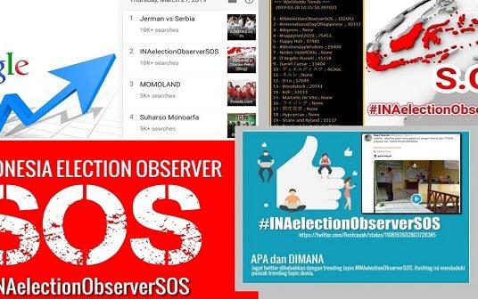 Mungkinkah Tagar#INAelectionObserverSOSDapat Memancing Intervensi Asing dalam Pilpres 2019 di Indonesia?