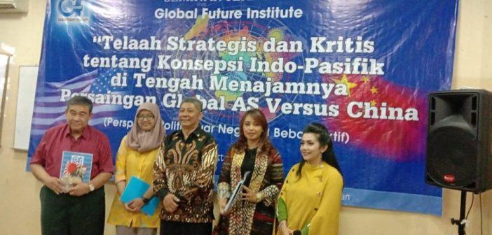 Berita Foto Seminar GFI Tentang Indo-Pasifik, Indonesia, dan Persaingan Global AS versus Cina