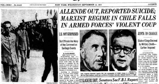 The New York Times: Media Corong Korporasi Global AS Dalam Mendukung Setiap Penggulingan Para Pemimpin Anti-Amerika