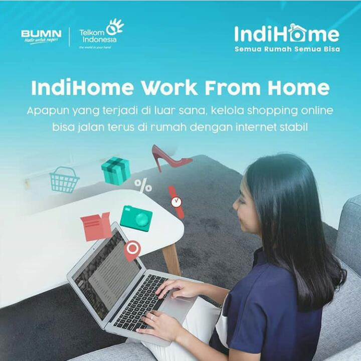 paket indihome work form home
